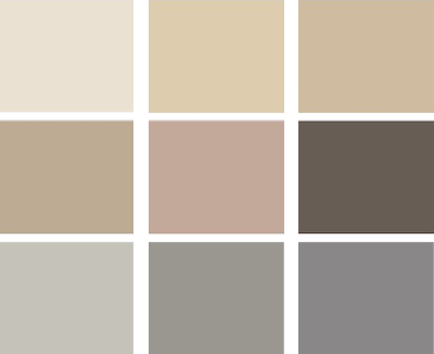 Zoo Interiors Colour Swatches