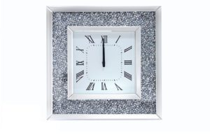 mirrored clock