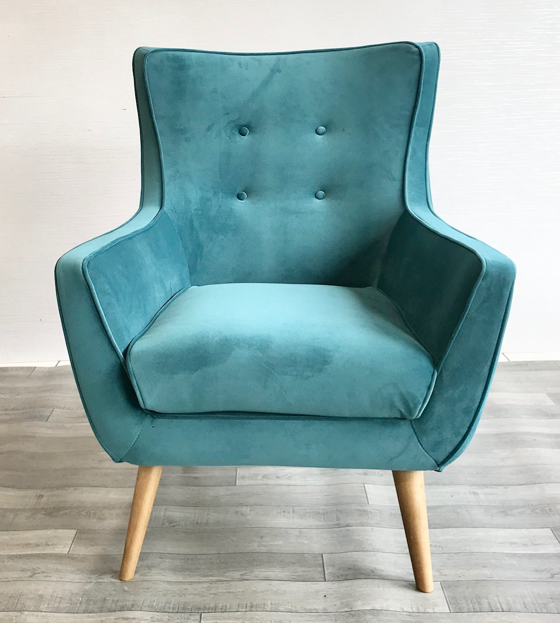 Puffin Teal Armchair Zoo Interiors