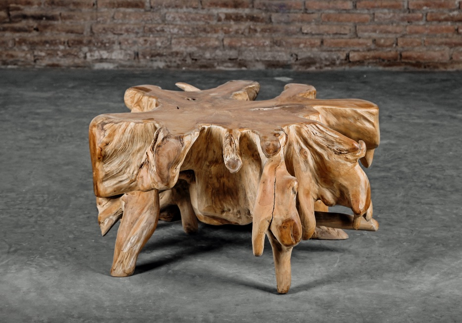 Teak Root Spider Coffee Table Zoo, Tree Root Furniture