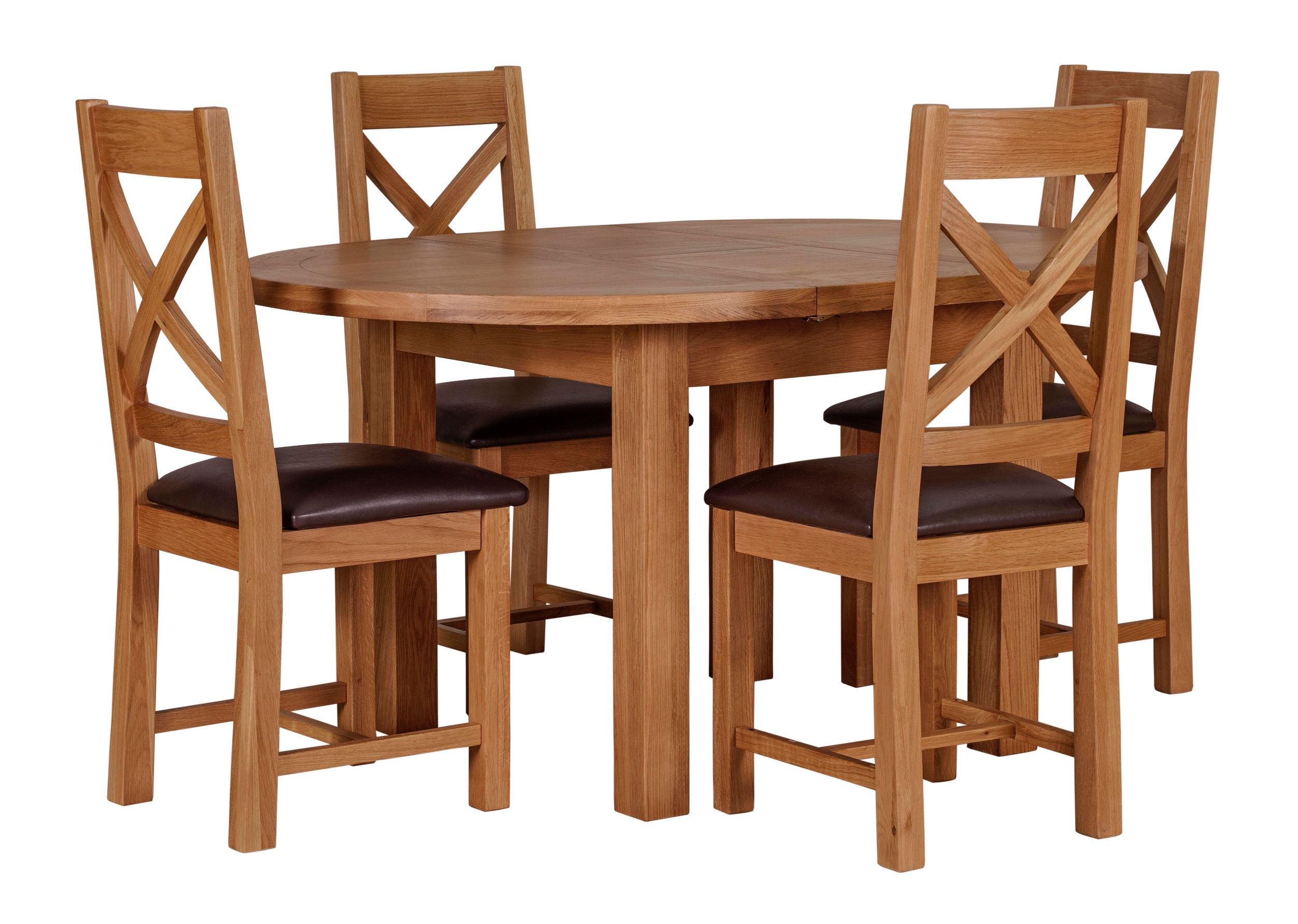 Wexford Round Extending Table   Zoo Interiors